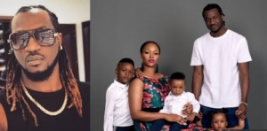 ''We quarrel and fight but we still love each other with all our might'' - Paul Okoye and wife, Anita, celebrate their 5th wedding anniversary