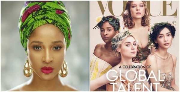 Adesua Etomi Reacts To Her Vogue Magazine Cover Controversy