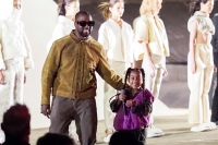 Like Father Like Daughter! Watch North West Amazing Performance with Kanye West at the Yeezy's Paris Fashion Week