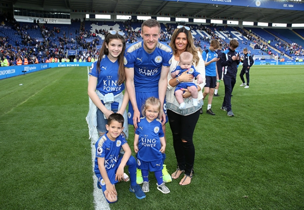 Rebekah Vardy expecting her fifth child with footballer Jamie Vardy