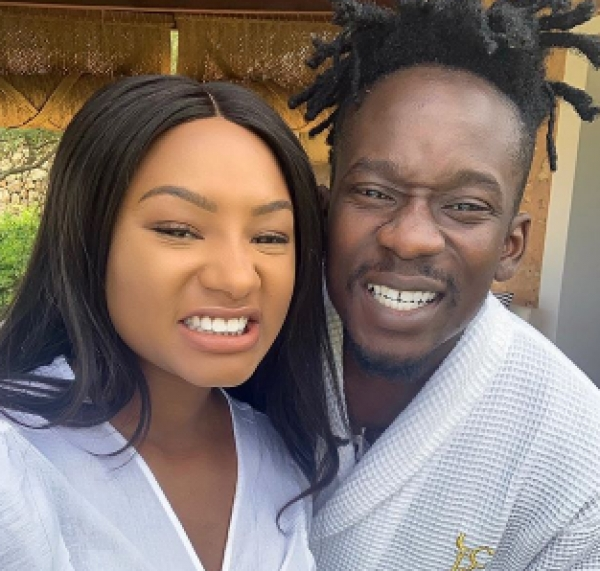 Temi Otedola describes Mr Eazi as her ''best friend forever'' as she wishes him a happy birthday