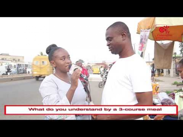 WHAT IS A 3COURSE MEAL - VOX POP