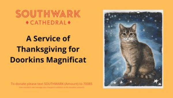 London Church Holds Memorial Service for Cat Who Lived in The Cathedral for 12 Years