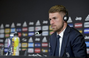 Former Arsenal midfielder Aaron Ramsey unveiled as a Juventus player and will earn £440,000 a week
