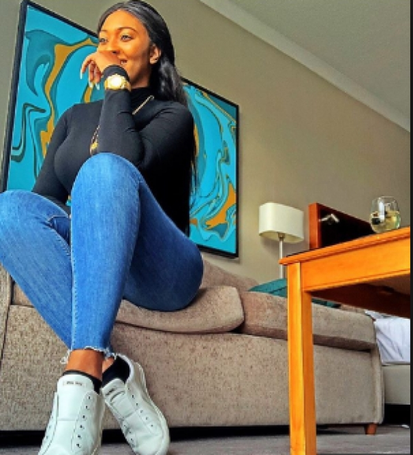 Unbothered Lilian Esoro shares a stunning new photo with interesting caption after Ubi Franklin's pregnancy news with '4th woman'