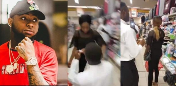 Davido Reacts To Viral Video Of Lady Who Walked Out On Her Boyfriend's Proposal