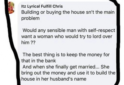 Nigerian Man gives hillarious advice to Women in Nigeria