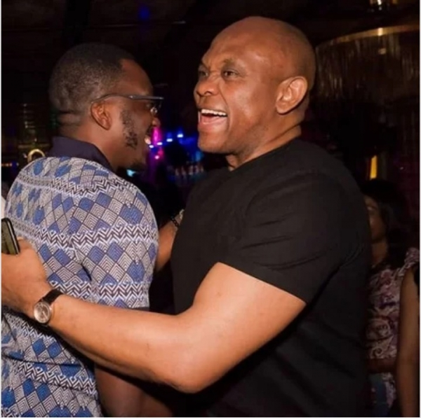 Tony Elumelu Saves Bovi From Embarrassment In A Club