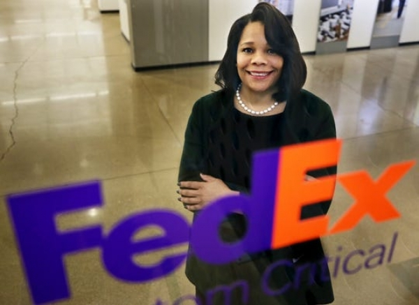 Fedex Gets The First-Ever Black Female CEO and she was a former receptionist there
