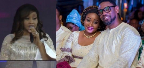 """COZA will pay them back by making slaves of them"" - Modele Fatoyinbo throws shades as she prays"