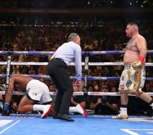 'He wasn't a true champion, his whole career consisted of lies, contradictions and gifts' - Deontay Wilder mocks Anthony Joshua