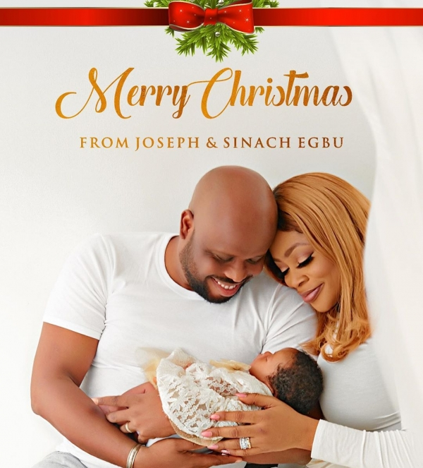 Sinach Shares First Picture Of Her Baby To Celebrate Christmas